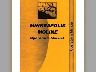 Operator's Manual - U302 Minneapolis Moline U302 U302