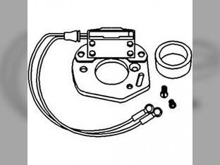 Electronic Ignition Kit - 12 Volt Negative Ground International 300 Super M M Super A 354 400 C B414 Super C HV A Super MTA Super H 600 H B Case 200B 310 420 Massey Ferguson 50 35 John Deere 3010