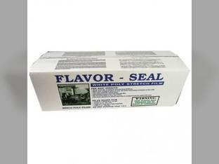 "Flavor Seal Baler Film - 1mil 30"" x 5000' Universal Baler Parts Twine, Netwrap, Film"