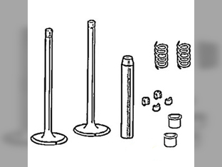 Cylinder Head, Valve, Kit