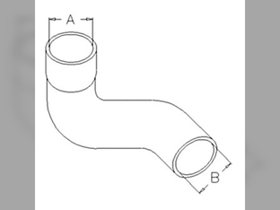 Air Cleaner, Hose, Suction  Click to enlarge image