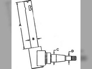 Used Spindle (RH) International Cub 364010R92