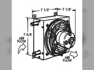 Auxiliary Heater 15 000 BTU 12V