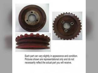 Used Auxillary Pump Drive Pulley Case IH 2366 2366 2166 2166 1644 1644 2388 1666 1666 2344 2344 2377 2377 1680 1680 2188 2188 2144 2144 2588 2588 1640 1640 1660 1660 2577 2577 1688 1688 1339488C1