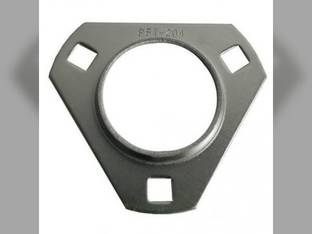 Bearing Flange 3 Bolt Triangle 3/4""