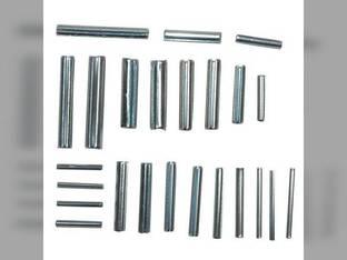 Roll Pin Assortment 25 Pins 12 Sizes