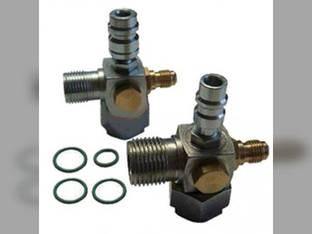 Service Valve Kit - Tube O-Ring to O-Ring Ford 9480 9030 9680 Versatile 976 276