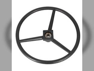 Steering Wheel - Black Allis Chalmers D19 D12 D14 D10 D21 D17 D15 I600 70232033 Gleaner F K E3 A2 E C 232033