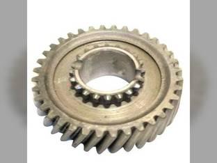 Used Pinion Shaft Gear - 2nd & 6th Speed John Deere 2130 2755 2355 2355N 2040S 2555 2630 2750 2140 2155 L28664