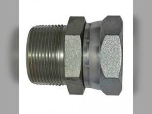 "Weatherhead - Male Pipe Adapter 1/2"" Male Pipe NPTF x 1/2"" Female Pipe Swivel NPSM 1404-08-08"