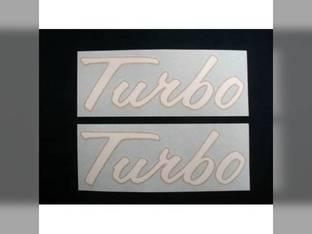 Turbo Decal International 2656 4586 4786 4186 4386 4568 4366 2706 4166 2756 4156