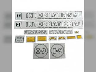 Decal Set International I6