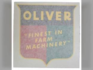 "Tractor Decal Finest in Farm Machinery 10"" Vinyl Oliver 1755 Super 77 1850 70 1650 1555 880 770 Super 55 1655 550 60 2150 1800 1955 1600 77 66 660 1855 Super 88 1900 Super 66 88 1750 1950 1550 2050"