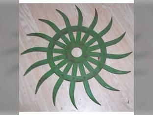 Rotary Hoe Wheel Green John Deere 75 420 415 430 428 AN142664