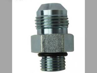 "Hydraulic Adapter 1/2"" Male JIC x 3/8"" Male O-Ring 3/4-16 x 9/16-18 NPT"