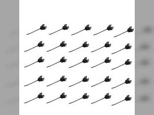Rake Tooth RH - Rubber 25 Pack New Holland 258 260 216 139041