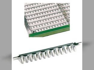 Top Chaffer Sieve - Adjustable Long Finger For Massey Ferguson 8570 8560 8780 2527183W91