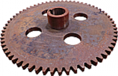 Drum Ground Drive Spur Gear, 64 Tooth