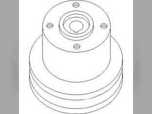 Water Pump Pulley Massey Ferguson 255 165 6500 180 30 265 175 31145812