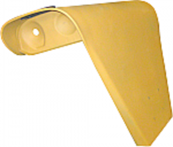Single Headlight Fender, Right Hand