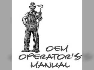 Operator's Manual - L185 L185DT Kubota L185 L185