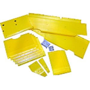Poly Skid Plate Kit - 22' Header