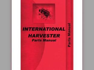 Parts Manual - 826 2826 International 2826 2826 826 826
