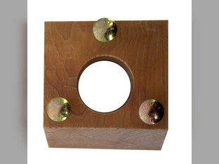 Auger Shoe Grain Supply Bearing Block