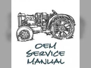 Service Manual - M6800 M6800S M8200 M9000 Kubota M9000 M8200 M6800 M6800 M6800