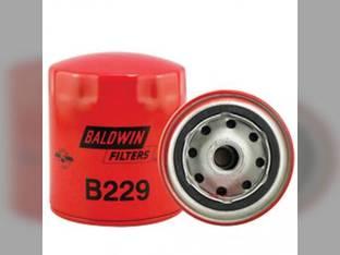 Filter - Lube Full Flow Spin On B229 Case 580 1494 1690 1594 1190 1194 2870 1390 1290 1490 1394 1294 4890 Kubota M5030 L4150 David Brown 995 990 1210 885 996 International 385 Case IH Gehl Isuzu