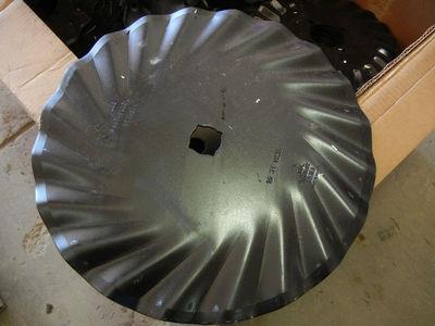 "Qty 80 Great Plains Turbo Till/Turbo Max 20"" Blades - New High Quality Cheap!"