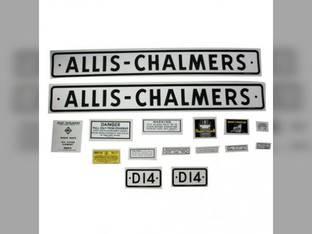 Decal Set Allis Chalmers D14