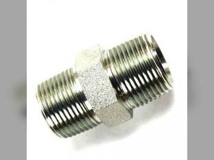 "Hydraulic Male Hex Nipple 3/4"" Male NPT 3/4"" Male NPT"