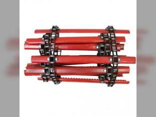 Feeder House Chain Rear Gleaner R40 R42 R50 R52 R40 R42 R50 R52 71149838 White 2500 2500