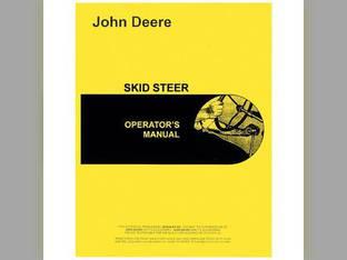 Operator's Manual - 60 John Deere 60 OMGA11317