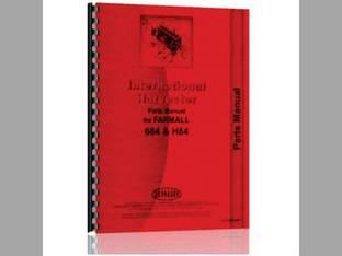 Parts Manual - 684 H84 International 684 Hydro 84