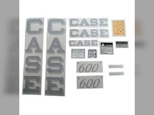 Decal Set Case 600