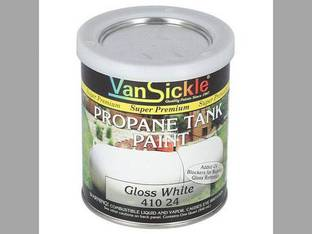 Gloss White Propane Tank Paint - Quart