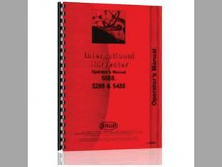 Operator's Manual - 5088 5288 5488 International 5288 5488 5088