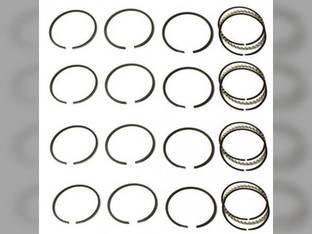 Piston Ring Set - Standard - 4 Cylinder Case 1845S 530CK 1150 580CK 570 540 541 W3 530 1845 G159 1845B 580B