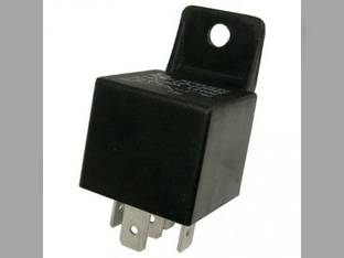 Mini Relay 5 Pin SPDT Resistor Bracket 12 Volt 30-40 Amp