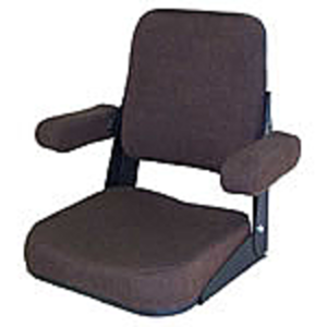 Seat Assembly - Brown Fabric