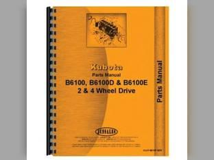 Parts Manual - B6100 B6100D B6100E Kubota B6100 B6100 B6100 B6100 B6100