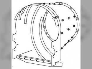 Rotor Transition Cone Case IH 2188 1680 1682 2588 2577 1688 2388 443123A1 International 1482 1480