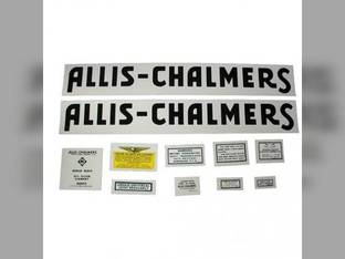 Decal Set Allis Chalmers WF