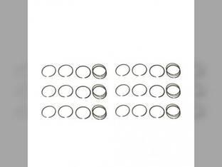 Piston Ring Set - Standard - 6 Cylinder Oliver 2155 2270 2655 Minneapolis Moline 585 G1355 G1350 White 2-150