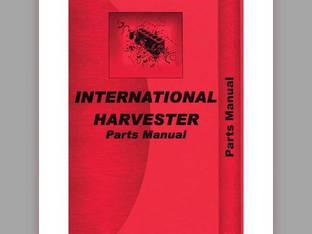 Parts Manual - 856 2856 International 2856 856 2856 856