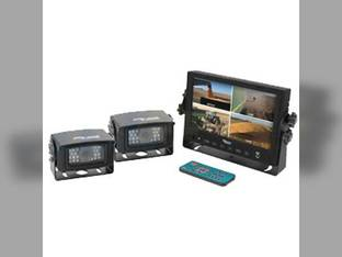 Cab Cam, External Monitor System, Quad Monitor, Complete