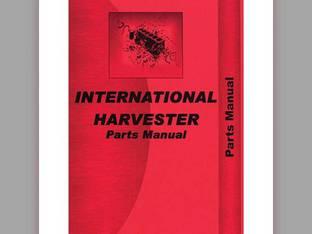 Parts Manual - 815 International 815 815