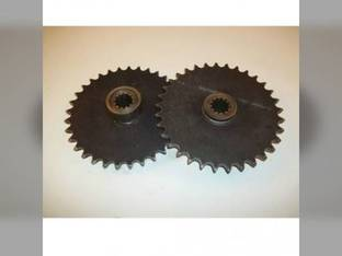 Used Axle Drive Sprocket - Front Case 1530 1740 1500 1526 1530B 1537 1737 1700 D53024